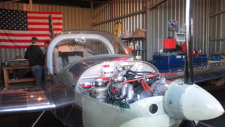 Van's RV-12 engine, propeller